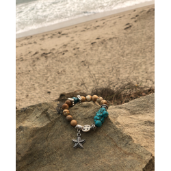 Jasper & Turquoise Starfish Dream