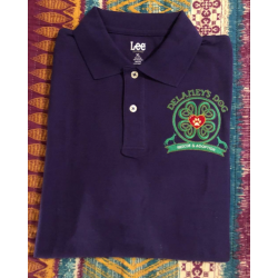 Lee Brand - Short Sleeve Polo. Embroidered on front.