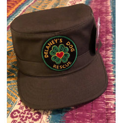 KBethos Brand - Conductor Hat. Embroidered on front. Shepherd Puppy Patch